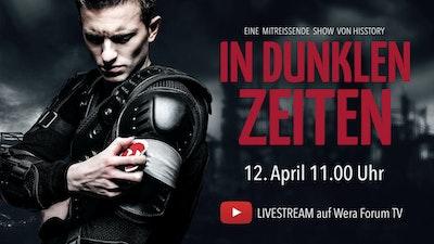 """Livestream Ostergottesdienst mit Musical """"In dunklen Zeiten"""", WERA-Forum"""